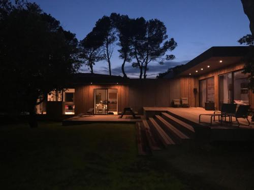 luxueuse maison d architecte en bois