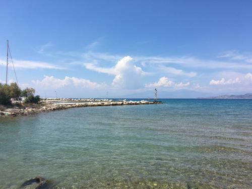 Assos beach