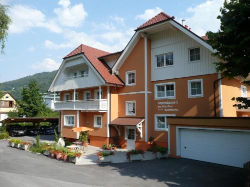 Dependance I - Apartment mit 1 Schlafzimmer und einem Balkon oder einer Terrasse