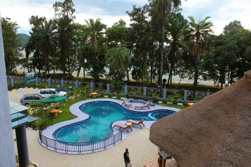 Hill View Hotel Lake Kivu