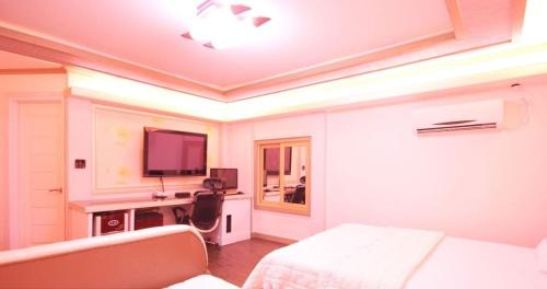 豪华双人房(2张双人床) (Deluxe Double Room with Two Double Beds)