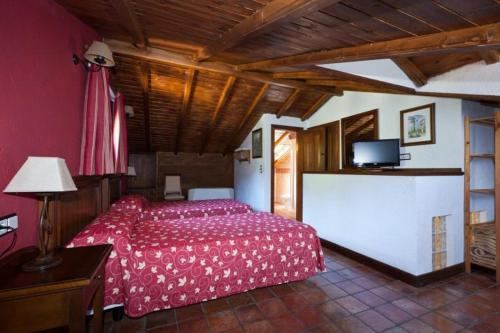 Attic Twin Room Coto del Valle de Cazorla 4