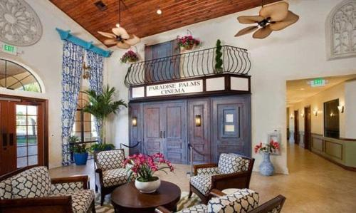 Lobby Paradise Palms Five Bedroom House with Private Pool 5020