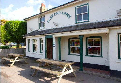 The East End Arms hotel in Lymington