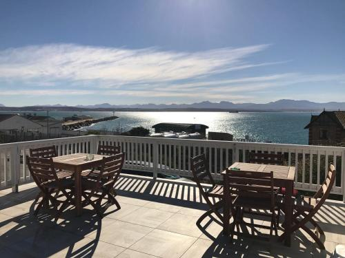 Balkon The Cove Guesthouse, Mossel Bay