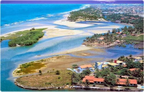 O PARAÍSO NA FOZ DO RIO JOANES - BURAQUINHO