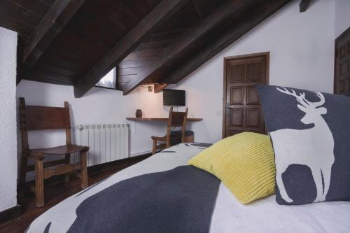 Habitación Doble con vistas a la montaña Hotel Santa Maria Relax 2