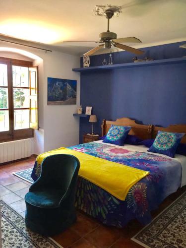 Quadruple Room with Shared Bathroom - single occupancy Mas de Baix 4