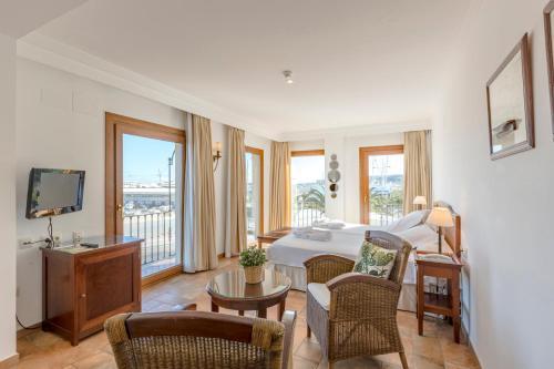 Suite Junior con vistas al mar La Posada del Mar 23