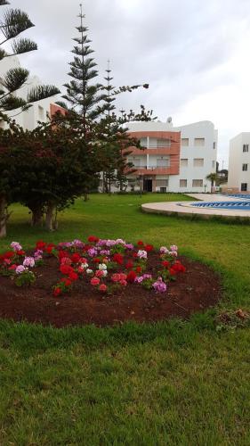 Appartement de charme proche plage des Sablettes avec piscine, Mohammedia