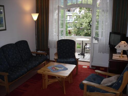 Værelse til 4 personer med altan (Quadruple Room with Balcony)
