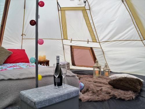 Glamping in Northumberland National Park