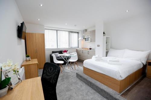 Studio Apartment Manchester studio apartment in central manchester, greater manchester, north