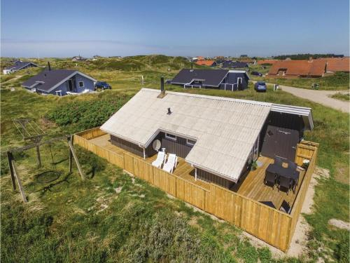 Three-Bedroom Holiday home Harboøre with a Fireplace 06