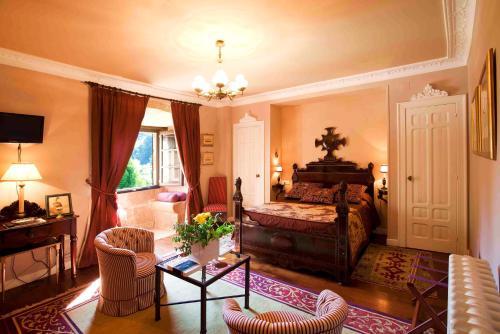Superior Double Room Pazo de Bentraces 3