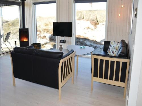 Holiday Home Ringkøbing with a Fireplace 02