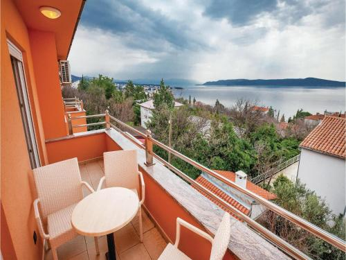 One-Bedroom Apartment with Sea View in Crikvenica