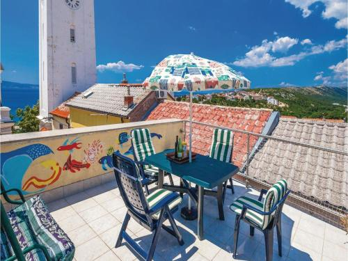 Three-Bedroom Holiday home with Sea View in Novi Vinodolski