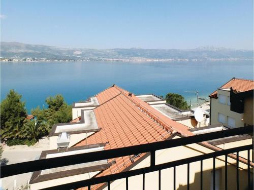 Apartment Arbanija with Sea View X