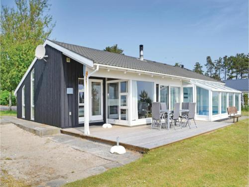Holiday Home Ebeltoft with Fireplace 11