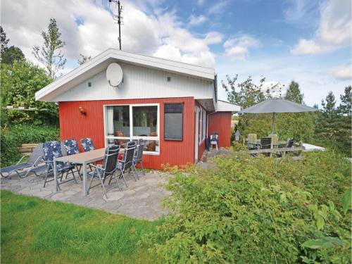 Holiday Home Ebeltoft with a Fireplace 7