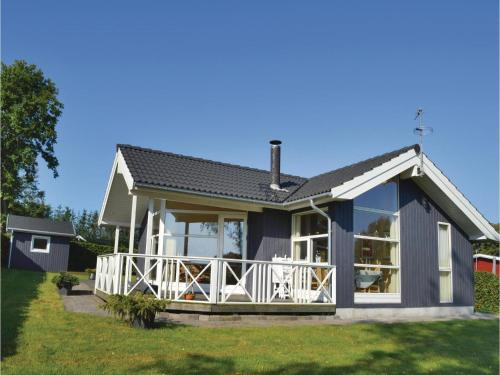 Holiday Home Hadsund with Fireplace 10