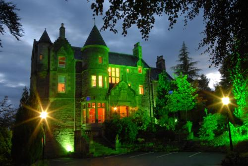 Photo of Knock Castle Hotel & Spa Hotel Bed and Breakfast Accommodation in Crieff Perth and Kinross