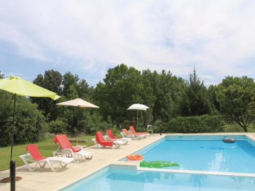 Holiday home La Bastide de Virac 26 with Outdoor Swimmingpool