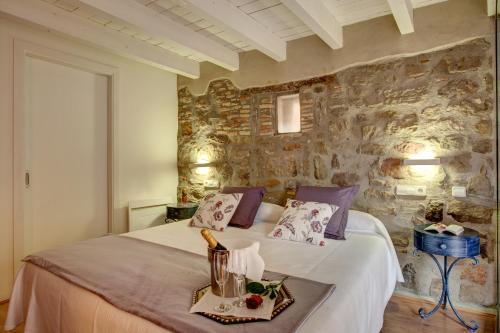Habitación Doble Deluxe con jardín privado Hotel La Freixera 2
