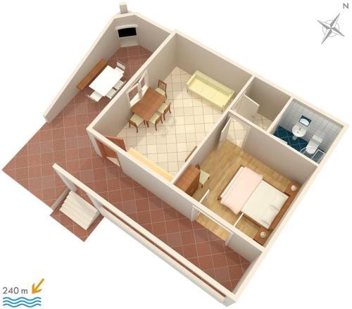 Apartment Sveta Nedilja 4049a