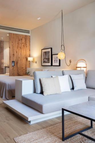 Junior Suite mit Terrasse Hotel Peralada Wine Spa & Golf 3