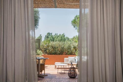Junior Suite mit Terrasse Hotel Peralada Wine Spa & Golf 5
