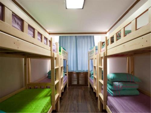 Mainland Chinese Citizens-Bed in 8-Bed Male Dormitory Room