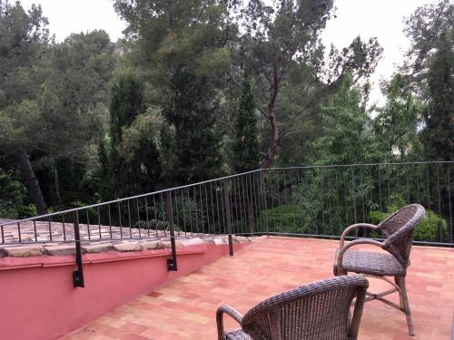 Habitación Doble con vistas - 1 o 2 camas - Uso individual Mont-Sant 7