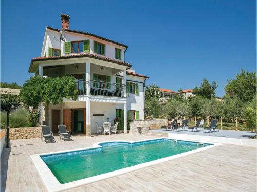 Four-Bedroom Holiday home Labin with Sea View 06
