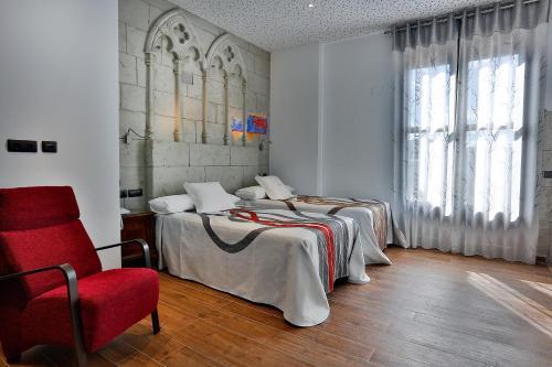 Habitación Doble - 1 o 2 camas - Uso individual Hotel el Lagar de Isilla 4