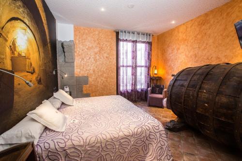 Habitación Doble - 1 o 2 camas - Uso individual Hotel el Lagar de Isilla 5