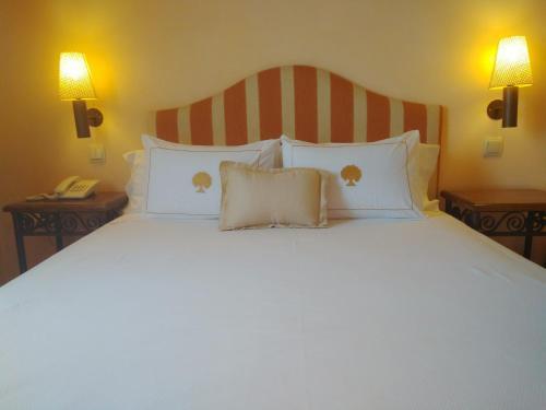 Doppel-/Zweibettzimmer mit eigener Terrasse Cigarral de Caravantes 2