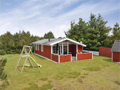 Holiday home Hvide Sande with a Fireplace 313