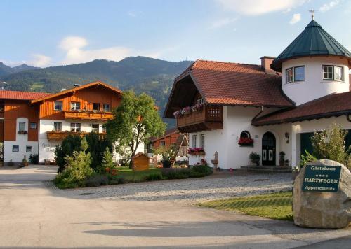 Gästehaus Hartweger - Apartment mit 2 Schlafzimmern mit Balkon