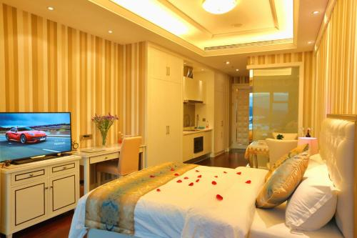 Xiamen Twin Tower Sheyue Seaview Apartment