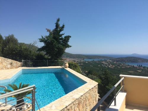 Luxury villa Epidavros Panorama