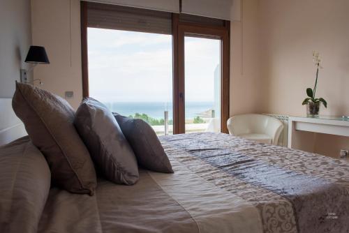 Habitación Doble con vistas al mar - 1 o 2 camas Hotel Naturaleza Mar da Ardora Wellness & Spa 9