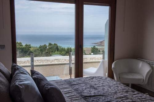 Habitación Doble con vistas al mar - 1 o 2 camas Hotel Naturaleza Mar da Ardora Wellness & Spa 7