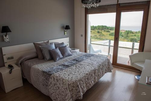 Doppel-/Zweibettzimmer mit Meerblick Hotel Naturaleza Mar da Ardora Wellness & Spa 6