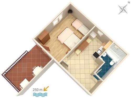 Apartment Dramalj 2397a