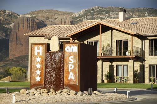 Maisonette-Zimmer Hotel Spa Aguas de los Mallos 3