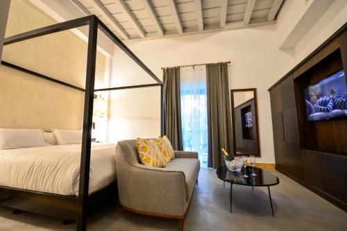 Suite Junior con terraza Legado Alcazar 11