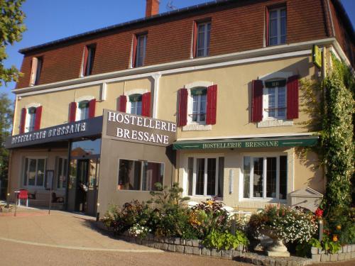 Отель Logis Hostellerie Bressane- Cuisery 3 звезды Франция