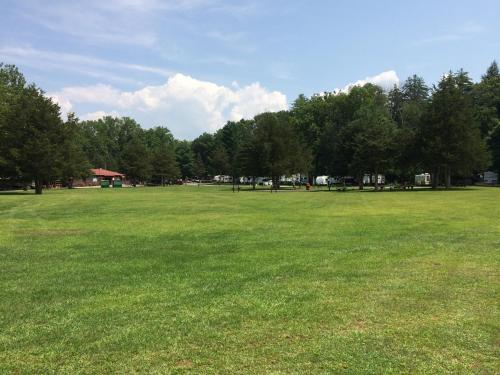Rondout Valley Camping Resort Porch Park Model 6